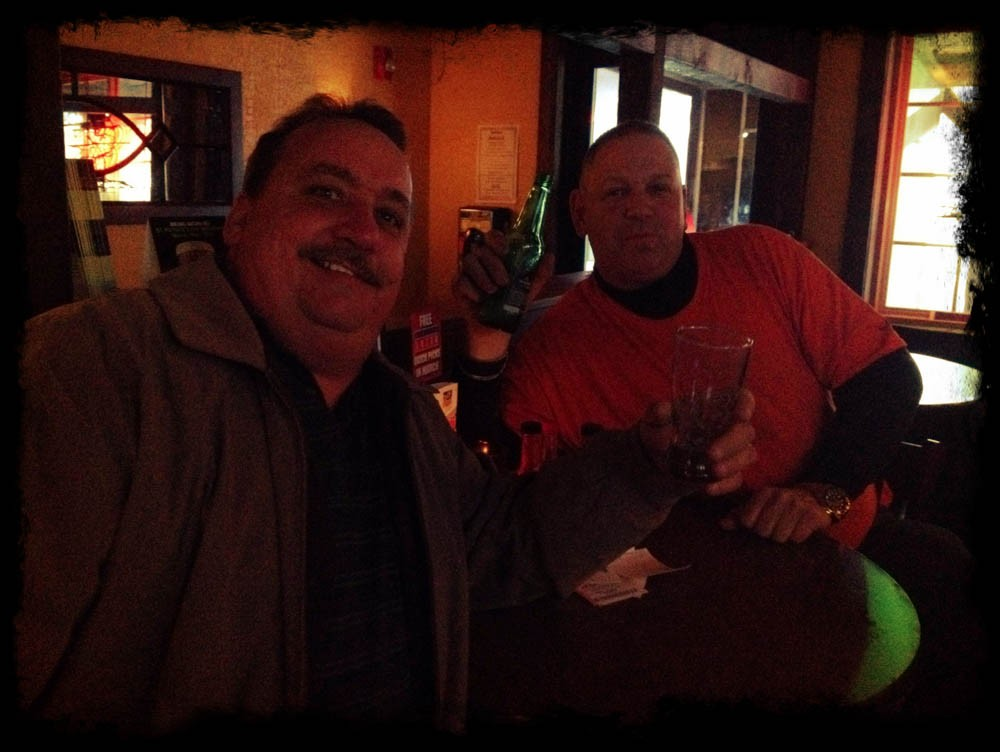 Alamo Cantina Restaurant - Phoenicia NY - locals enjoying our sports bar