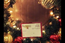 Gift Certificates are available for the Holidays!